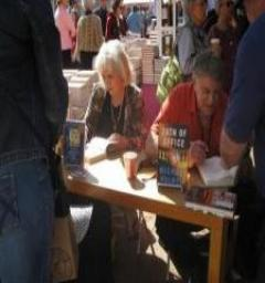 Nancy Turner and Michael Palmer Signing 2012